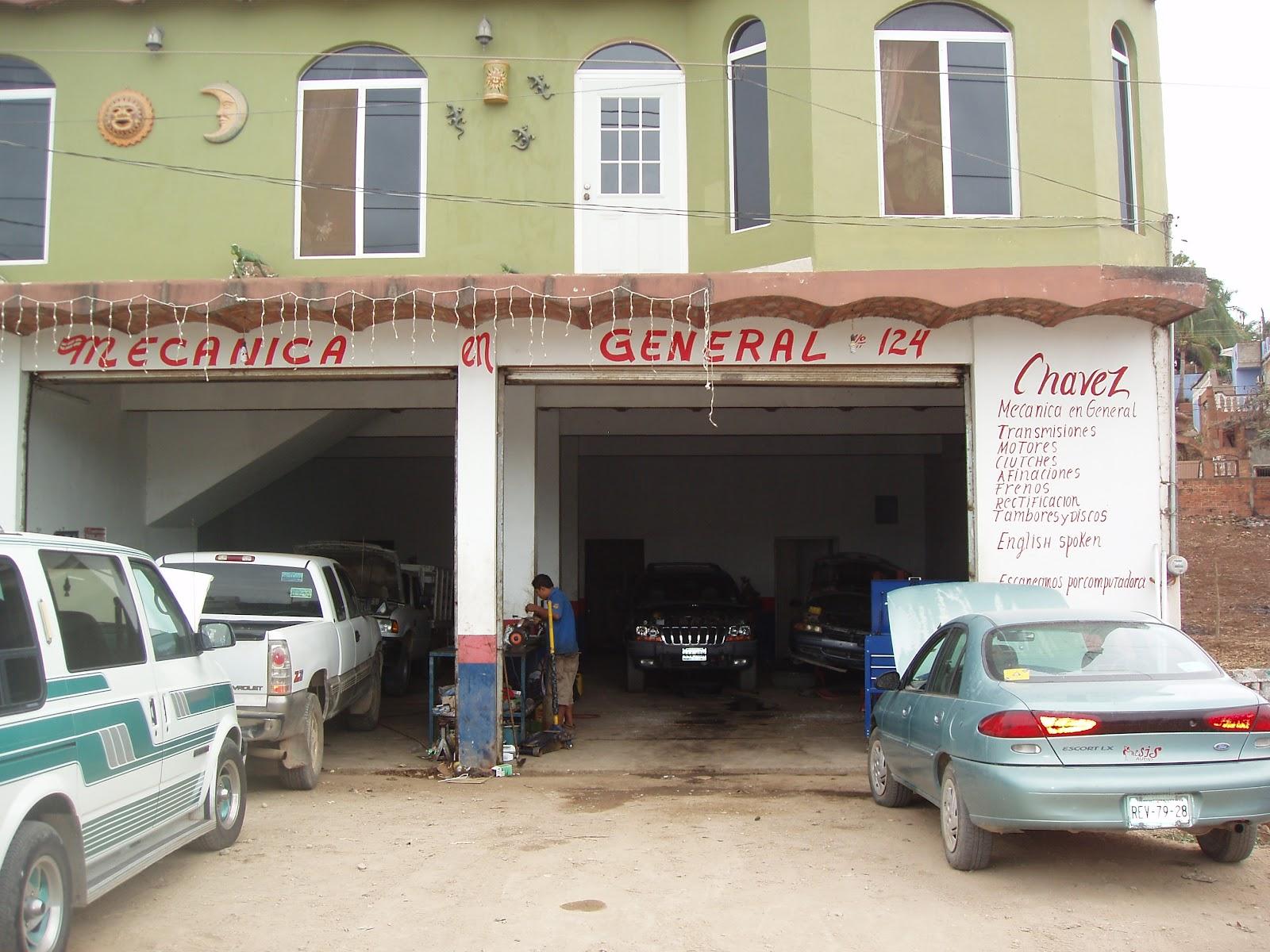 Mechanic Garage Viewing Gallery