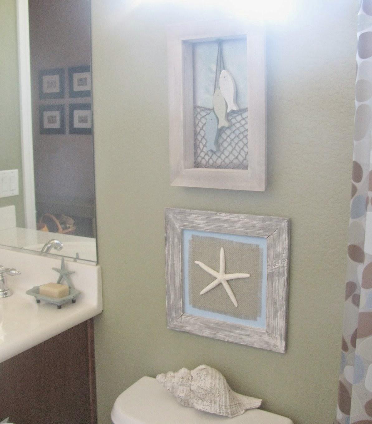 Beautiful Beach Decorating Ideas For Bathroom