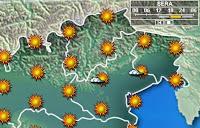 počasie Lignano dovolenka