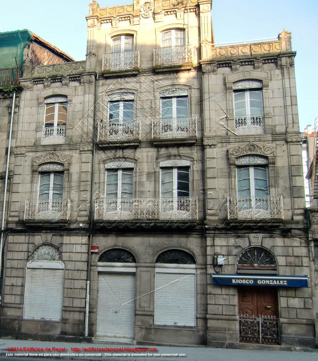 Villanueva Building, Progreso Street, Ourense (Spain)