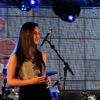 Milena Dallarosa na Festa Nacional da Música, em Canela.