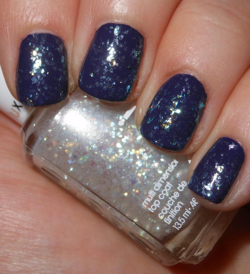 Imperfectly Painted: Essie Sparkle on Top