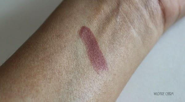Palladio Lipstick Swatch