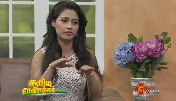 Virundhinar Pakkam – Actress Pooja – Sun TV Show 30-08-2013