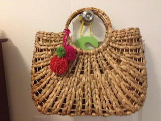 straw diaper bag