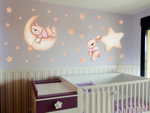Decopared decoracion de paredes con vinilos infantiles - Decoracion vinilo pared ...