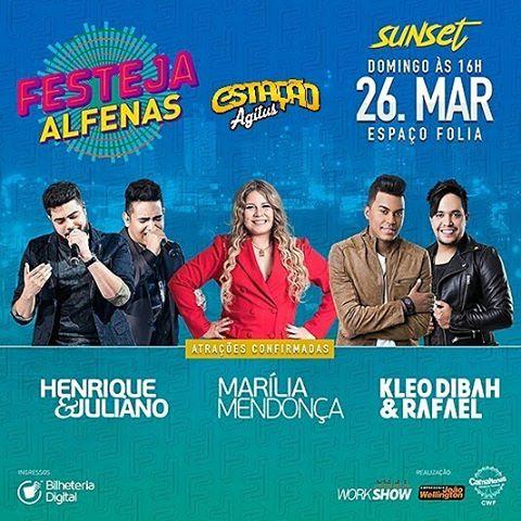 Festeja Alfenas - MG 26 de Março 2017