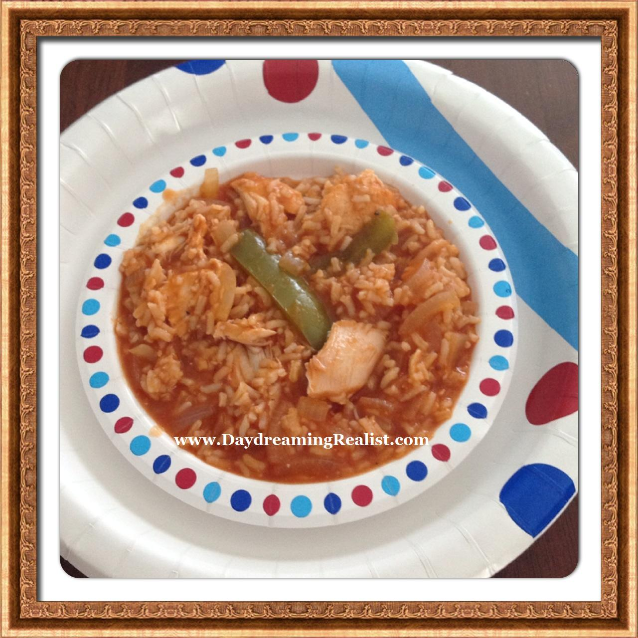 Easy Arroz Con Pollo Recipe