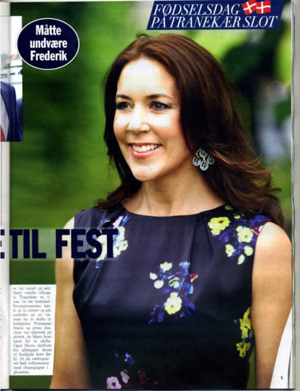 Princess Mary And Princess Marie Attend A Birthday Party