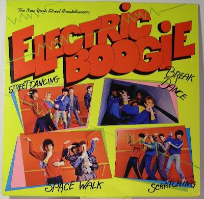 New York Street Breakdancers – Electric Boogie (1984, LP, 256)