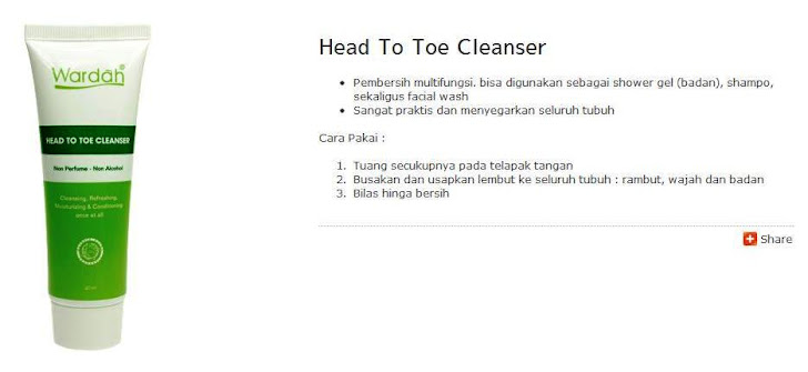 Head to Toe Cleanser (For Hajj & Umrah)