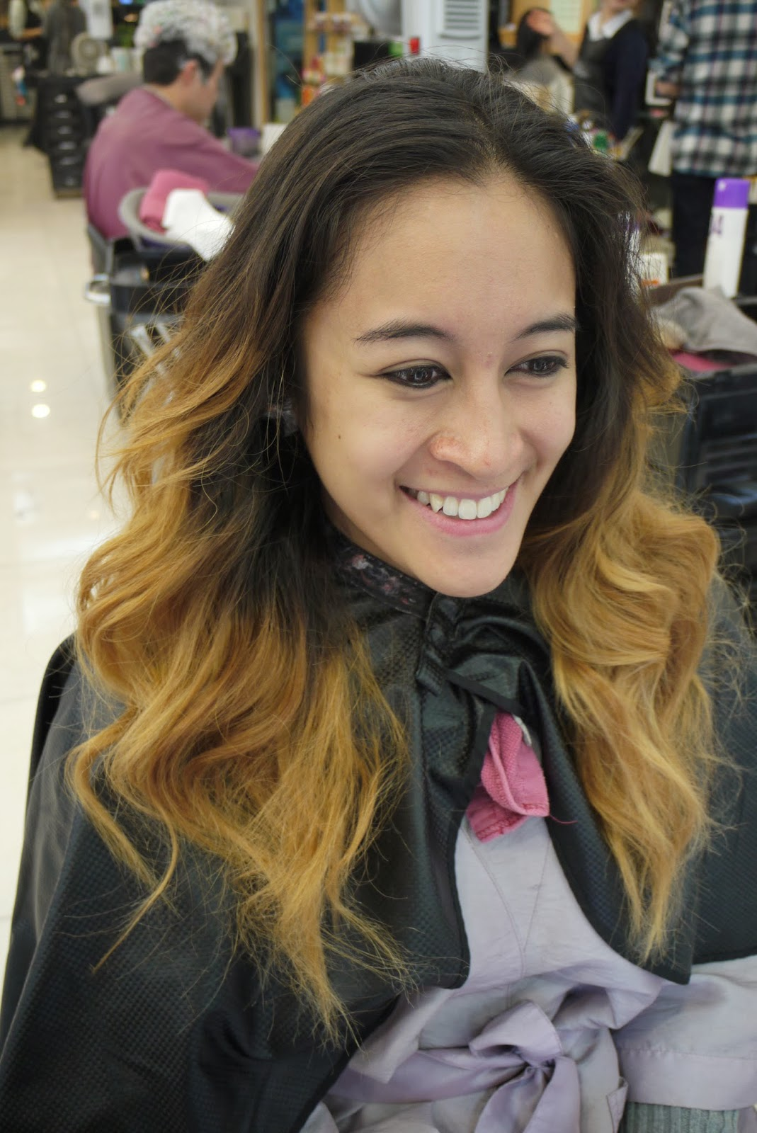 Natural OMBRE Hair Color MakeOver - YouTube