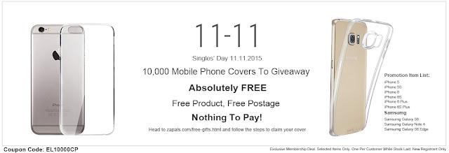 Gratuit : 10000 Coques transparente pour Smartphone Offerte !