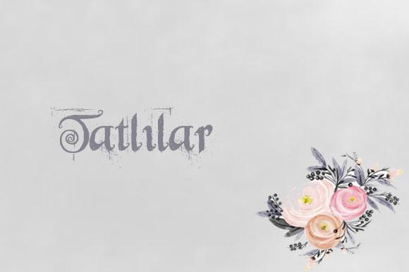 TATLILAR