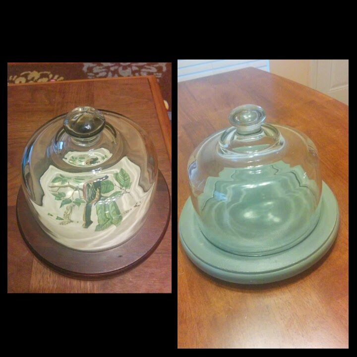 Painted Cloche - DIY