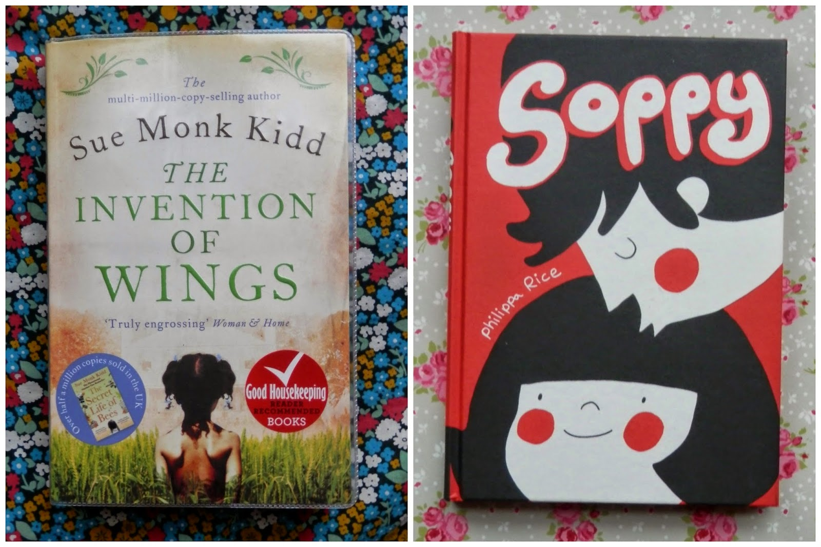 Library Love. Bumped, Thumped, The Invetion of Wings and Soppy. secondhandsusie.blogspot.co.uk