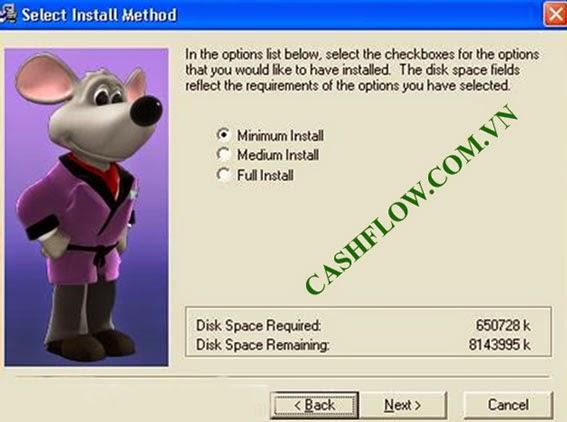 Cài đặt game cashflow 101 - bước 4
