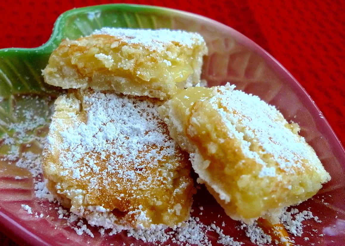 SWEET AS SUGAR COOKIES: Lemon Pie Bars