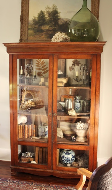 Ethnic Cottage Decor COLLECTIONS CABINETS OF CURIOSITIES