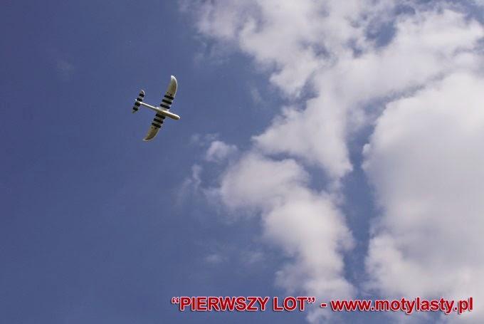 Pierwszy lot modelem RC.