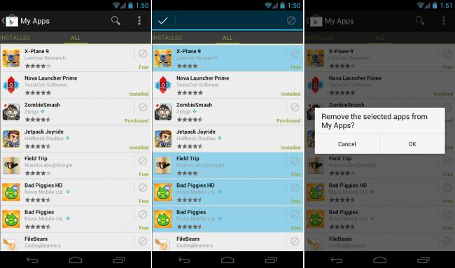 saja merilis update dari Google Play Store terbaru, yaitu Google Play