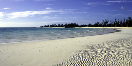 Enjoy miles of white sand beaches at this Bahamas condominium