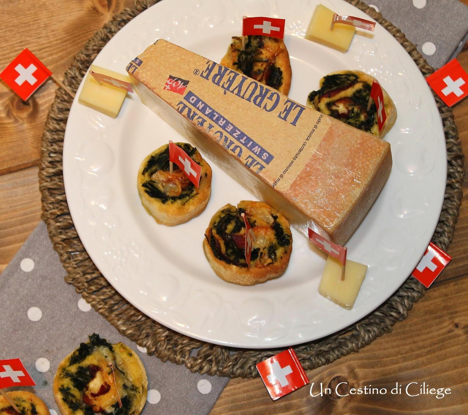 girelle rustiche con cicoria bresaola e le gruyère dop per #noicheeseamo
