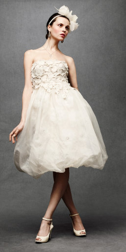 Wedding dress monday for Anthropologie beholden wedding dress