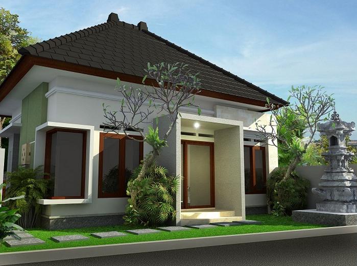 Desain Rumah Bali Modern Minimalis Terbaru