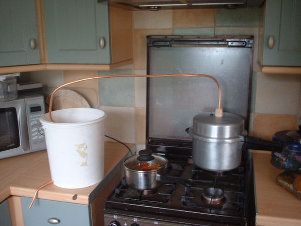 The Lonely Libertarian: How to make a still with a pressure cooker
