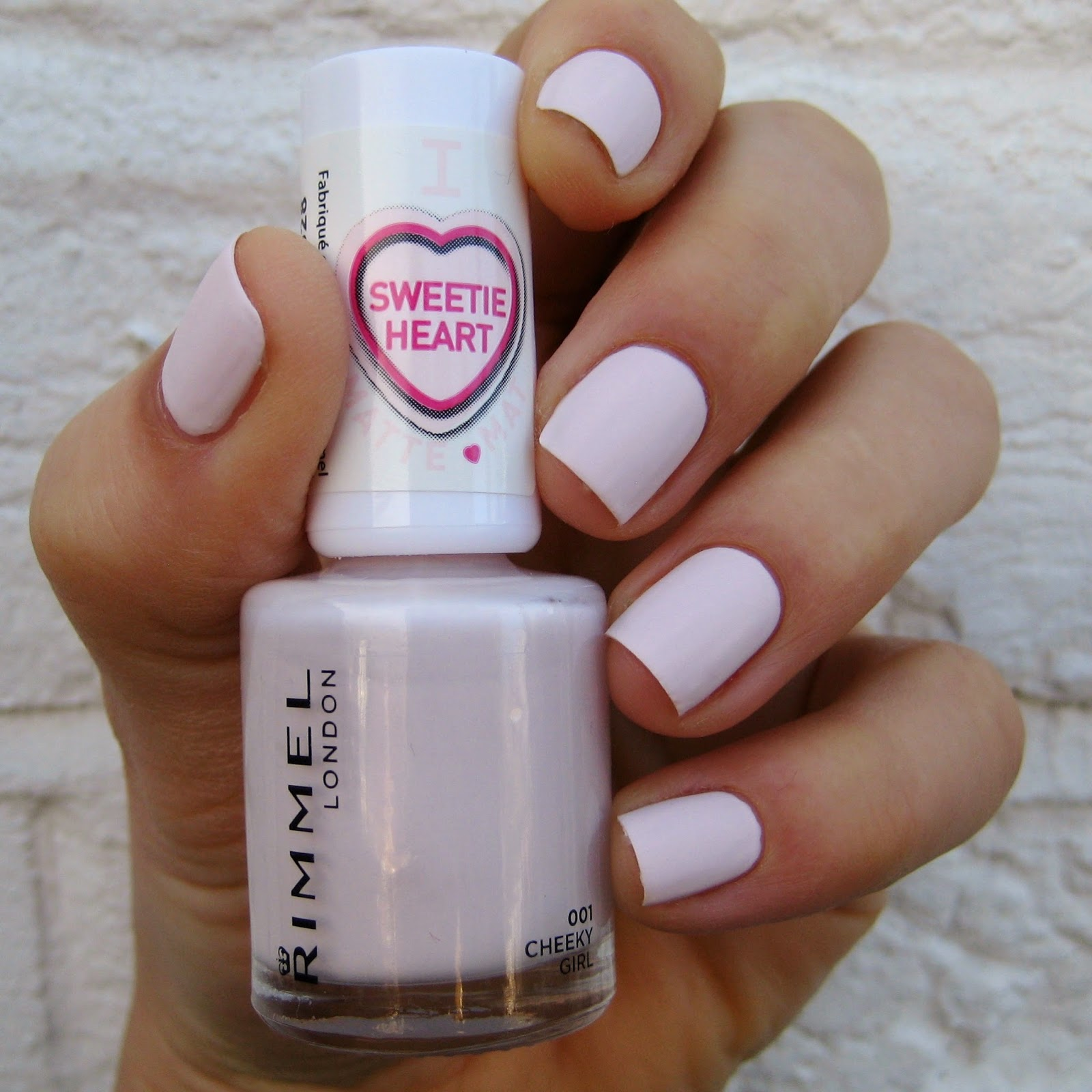 Rimmel London Sweetie Heart Matte Pastels Cheeky Girl