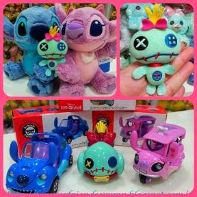 2012 JAPAN DISNEYLAND STITCH + ANGEL + SCRUMP