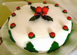 Κέικ Χριστουγέννων με φρούτα