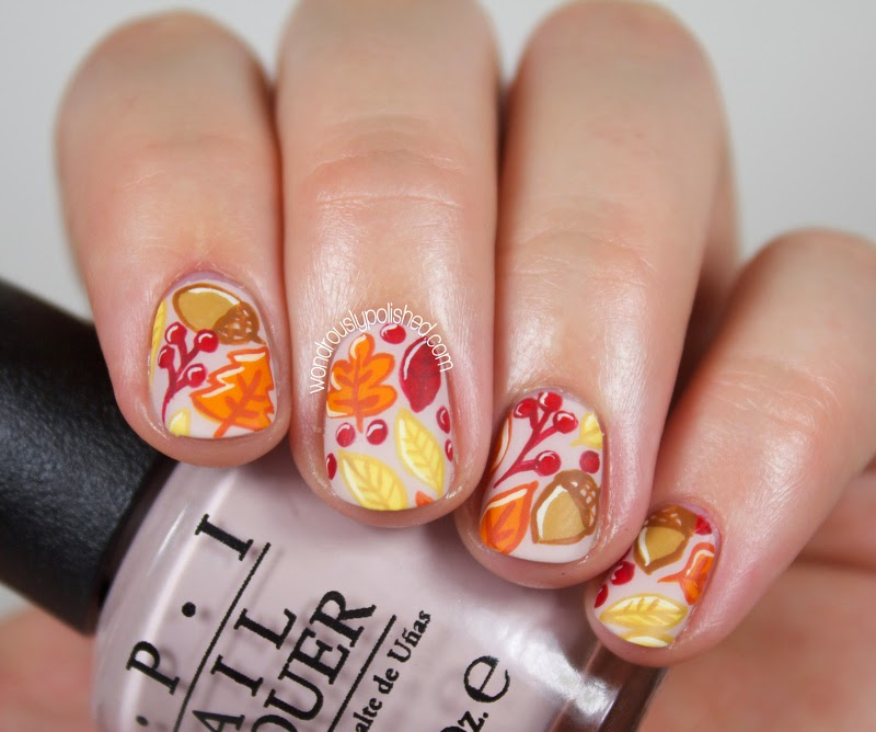 http://www.wondrouslypolished.com/2014/09/the-beauty-buffs-fall-autumn-leaves.html