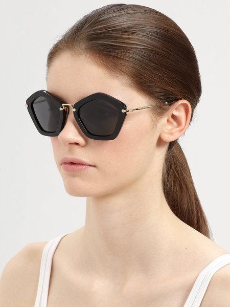 óculos de sol da moda miu miu