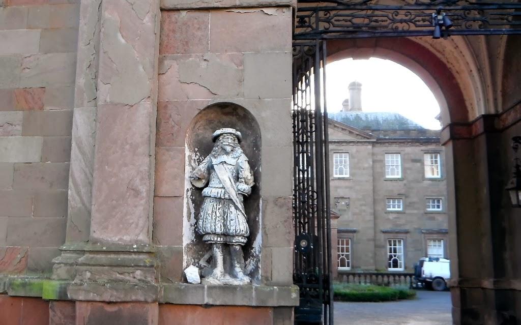 Patshull Hall facade