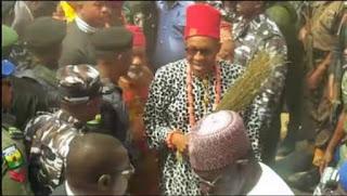 Pension alert: Ex-Biafra police officers go wild in Enugu