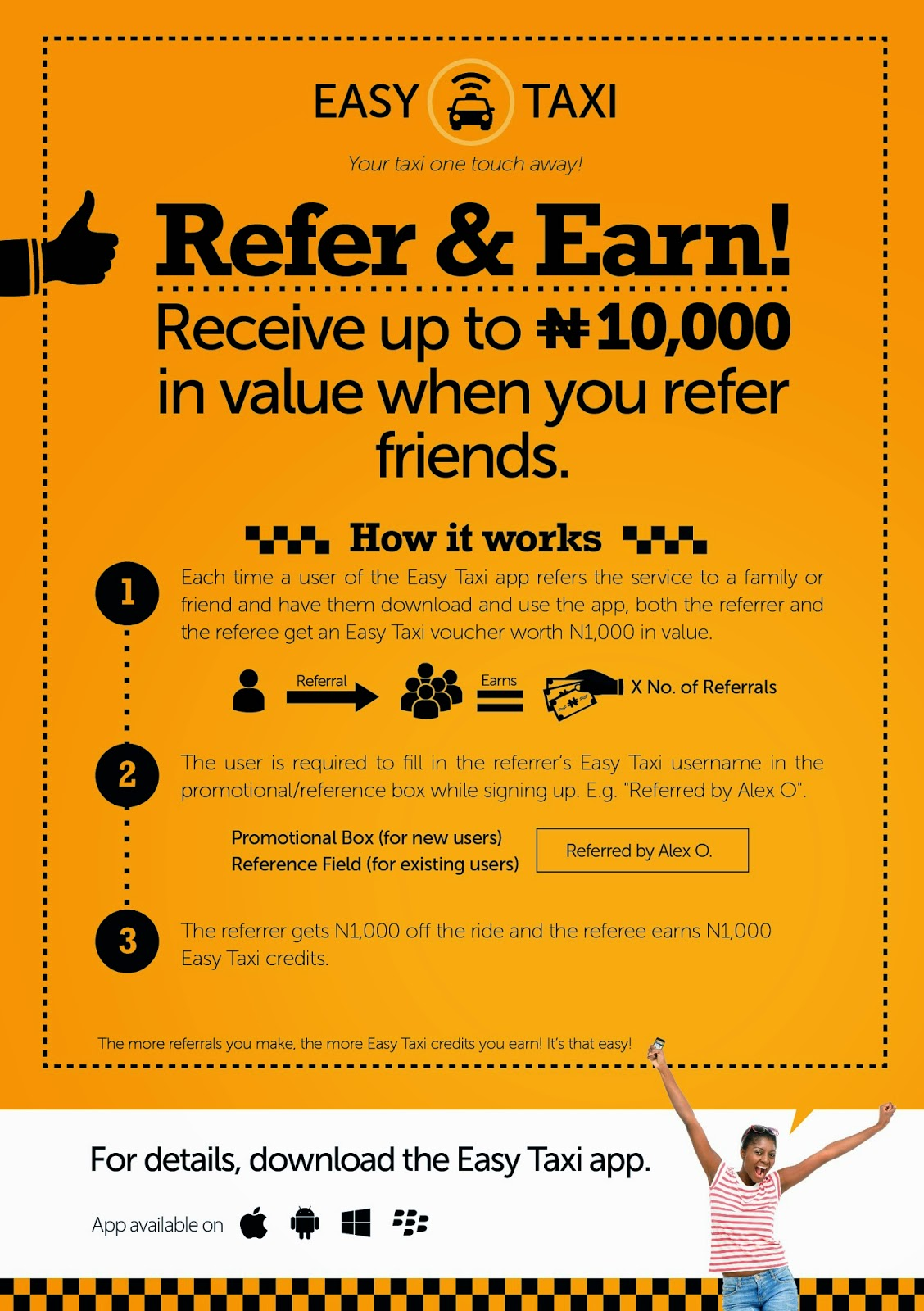 The Easy Taxi Referral Program