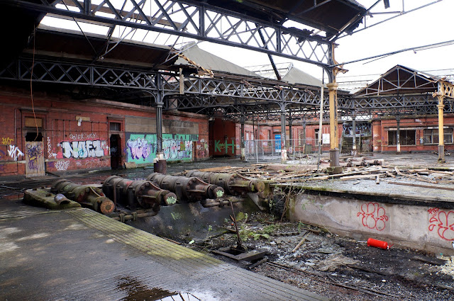 mayfield, station, ghost station, manchester, urbex, explore, urban, derelict, decay, depot, train, buffers, 1910, abandoned, adventure