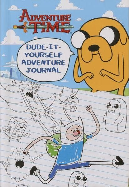 Adventure Time Dude it Yourself Journal Book