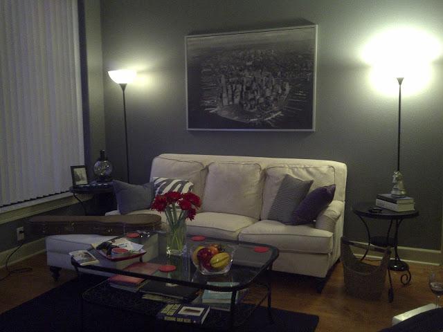 Buckhead betty on a budget living room decor complete for Complete living room decor