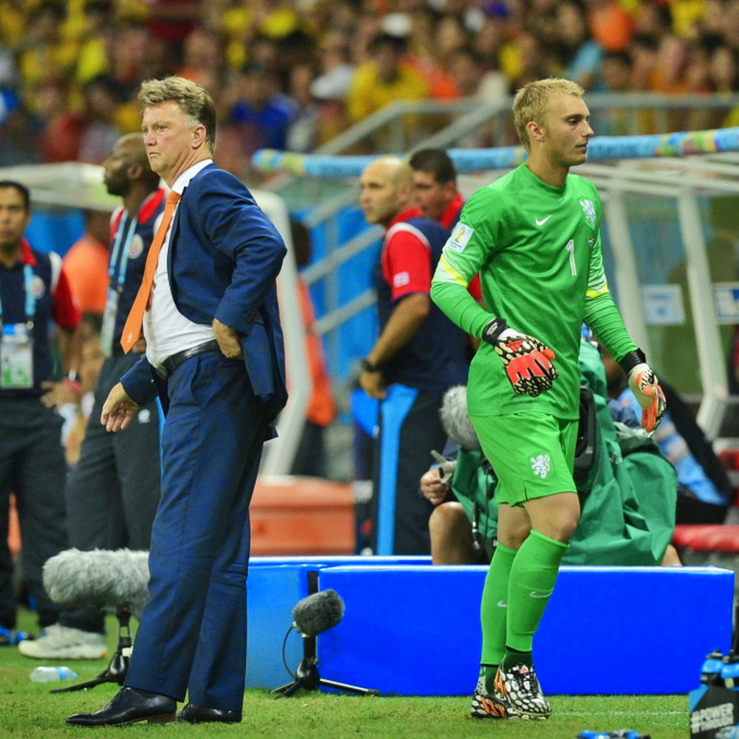 Cillessen, Louis Van Gaal, Holland, Costa Rica, Netherlands