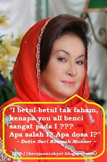 Rosmah Mansor perempuan sundal kuat nafsu sex