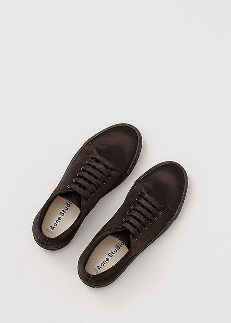 Acne Studio black sneakers