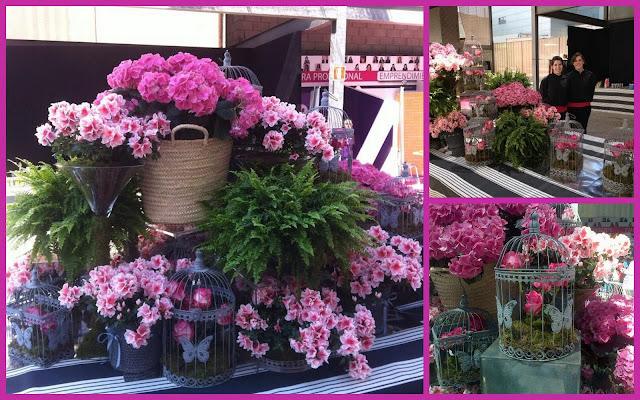 Decoración floral a cargo de Mystic Garden en el Inspiration Day 2013 de Womenalia