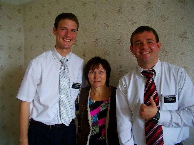 Me, Svetlana and Elder Loskutov