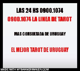 TAROT DESDE URUGUAY 0900.1074 LAS 24 HS