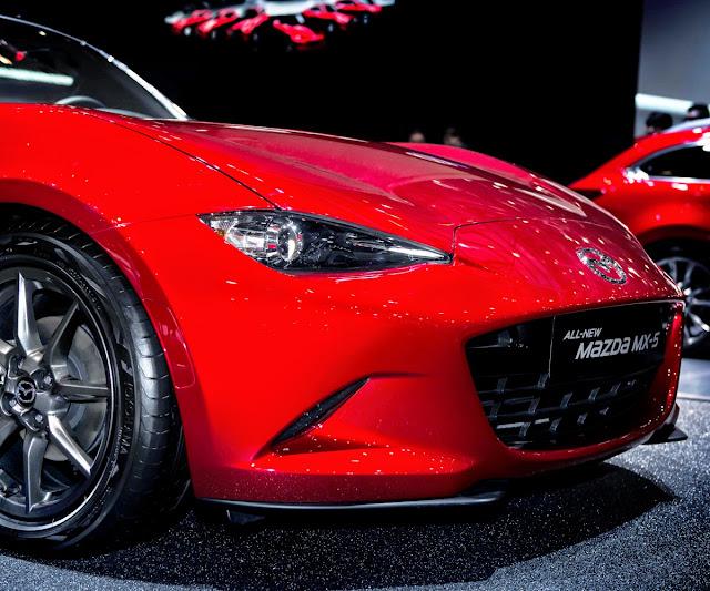 Mazda MX-5 @ Geneva 2015