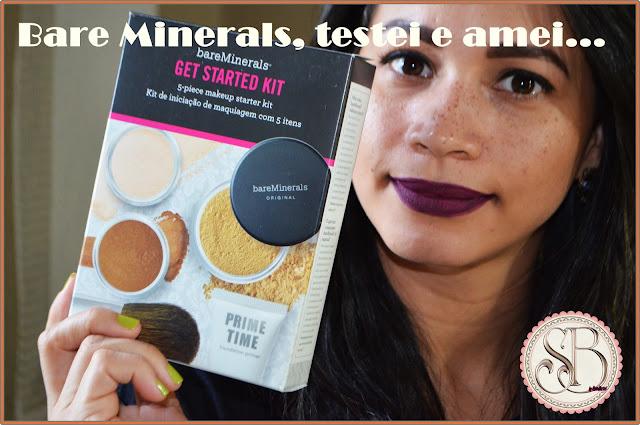 Somando Beleza, Kit Bare Minerals, Sephora.