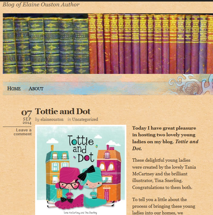 http://elaineoustonauthor.com/2014/09/07/tottie-and-dot/